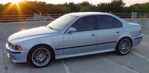 This 2001 BMW M5 accomplishes this goal quite well.